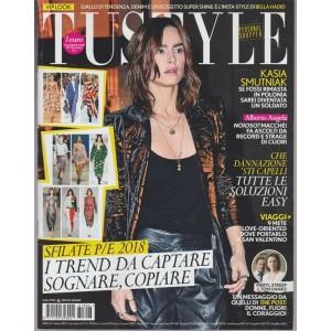 Tu Style - settimanale n. 6 -30 Gennaio 2018 Kasia Smutniak