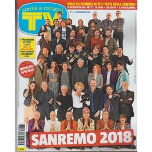 Sorrisi e Canzoni TV - settimanale n. 5 - 30 Gennaio 2018 SANREMO 2018