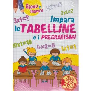 Leggo Gioco e Imparo - mensile n. 3 Marzo 2018 Grafismi/Tabelline