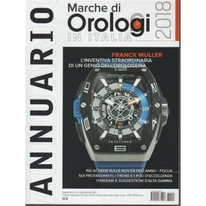 Annuario 2018 Marche di orologi in Italia - Aprile 2018