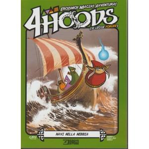 "4HOODS (si legge Forudz) - mensile n. 2 Aprile 2018 ""Navi nella nebbia"""
