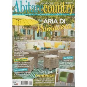 Abitare Country - bimestrale n. 2 Aprile 2018 - Idee per la casa romantica