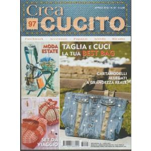 Crea Cucito - mensile pocket n. 97 Aprile 2018 Set da viaggio