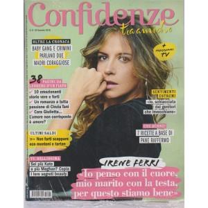Confidenze - settimanale n. 6 - 30 Gennaio 2018 Irene Ferri