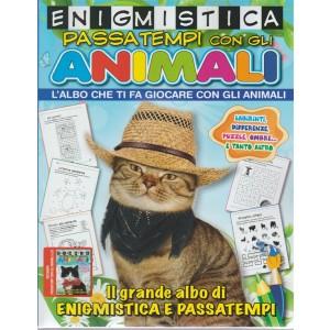 Passatempi Con Gli Animali - Enigmistica. n. 25 - periodico bimestrale - maggio - giugno 2018
