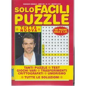 Solo Facili Puzzle - n. 174 - periodico mensile - maggio 2018