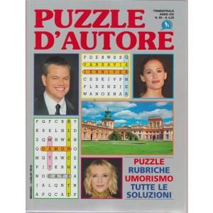 Puzzle D'autore - n. 65 - trimestrale