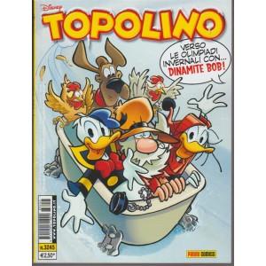 Disney Topolino - settimanale n. 3245 - 31 Gennaio 2018  - Panini Comics