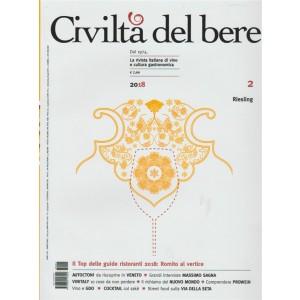 Civiltà del bere n. 4 bimestrale - marzo - aprile 2018