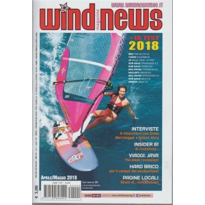Wind News - Interviste/Insider61 n. 2 aprile/maggio 2018 - mensile