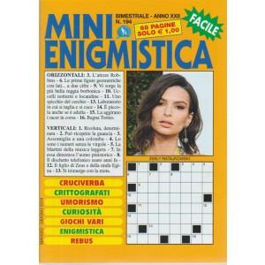 Mini Enigmistica - n. 194 - bimestrale - maggio - giugno 2018