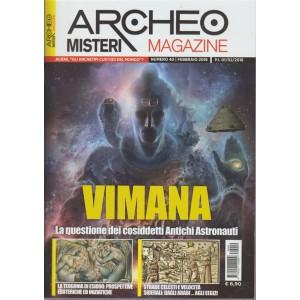 Archeomisteri Magazine - mensile n. 40 Febbraio 2018