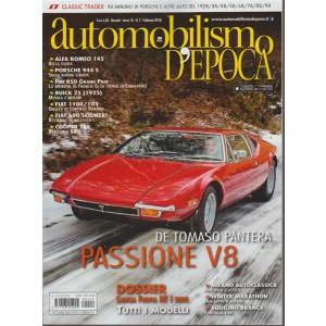 Automobilismo d'Epoca - Mensile n.2 Febbraio 2018 De Tommaso:Pantera Passione V8