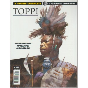 Toppi 7- n. 22 - 30 aprile 2018 - mensile - warramunga - m'felewzi - momotaro. I grandi maestri