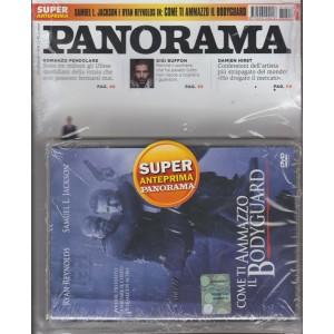 Panorama - settimanale n. 7 - 1 Febbraio 2018 + DVD Come ti ammazzo il Bodyguard