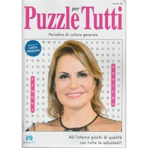 Puzzle X Tutti - n. 96 - 3/5/2018 - bimestrale