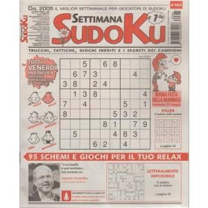 Settimana Sudoku - n. 665 - settimanale - 11 maggio 2018 - tutti i venerdi in edicola