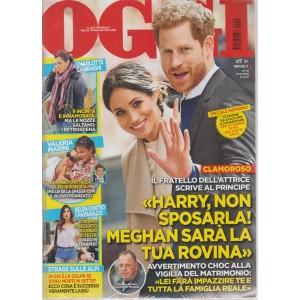 Oggi - Novita' Megan E Harry n. 19 - 17/5/2018
