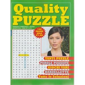 Quality Puzzle -  n. 43 - periodico trimestrale - giugno - agosto 2018
