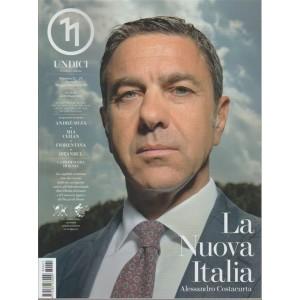 Undici - bimestrale n. 21 Maggio 2018 Alessandro Costacurta: la nuova Italia