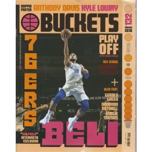 Buckets - Ex Riv.Uff.Nba n. 132 - maggio 2018 - mensile