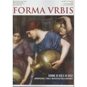 Forma Urbis n. 3 - marzo 2018 -