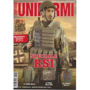 Uniformi - n. 25 - bimestrale - maggio/giugno 2018 -