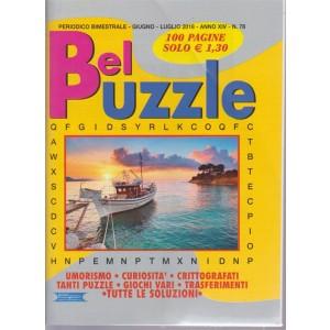 Bel Puzzle - n. 78 - periodico bimestrale - giugno - luglio 2018