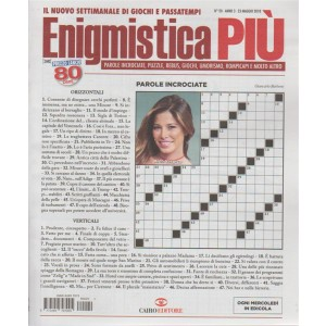 Enigmistica Piu' n. 20 - 23 maggio 2018 -