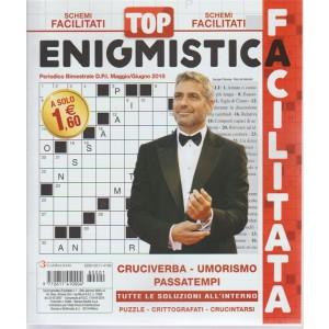 Top Enigmistica Facile -  n. 1 - periodico bimestrale - maggio - giugno 2018