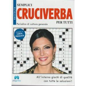 Raccolta semplici cruciverba per tutti - n. 24 - bimestrale - 2/5/2018 - Periodico di cultura generale