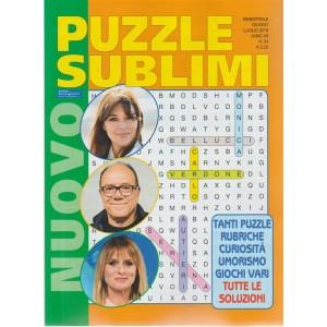 Nuovo Puzzle Sublimi - n. 54 - bimestrale - giugno - luglio - 2018
