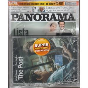 "Panorama - Settimanale n. 22(2712) 17 maggio 2018 + Dvd ""The Post"""