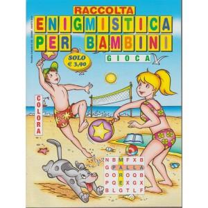 Raccolta enigmistica per bambini n. 144 - Supplemento a Enigmistica facile - Periodico culturale - giugno - agosto 2018