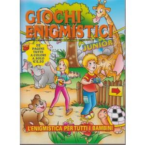 Giochi  enigmistici junior n.  66 - periodico bimestrale - giugno - luglio 2018