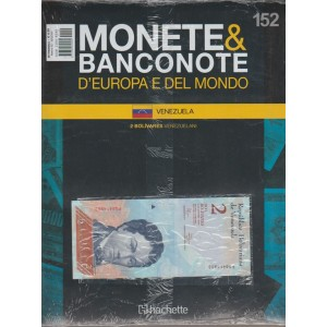 Monete & Banconote d'Europa e del Mondo n. 152  VENEZUELA by Hachette
