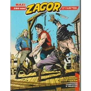 Zagor Maxi - quadrimestrale n. 33 Maggio 2018 i Cosacchi dello Yukon