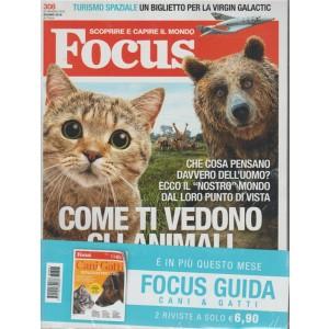 Focus - mensile n. 308 Giugno 2018 + Guida Cani&Gatti: istruzioni per l'uso