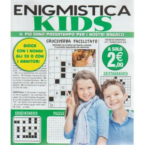 Enigmistica Kids - n. 17 - periodico bimestrale -giugno - luglio 2018