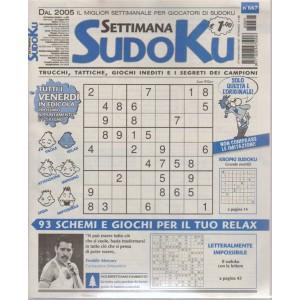 Settimana Sudoku - n. 667 - settimanale - 25 maggio 2018 - tutti i venerdì in edicola