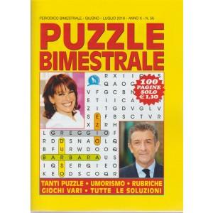 Puzzle Bimestrale - n. 56 - periodico bimestrale - giugno - luglio 2018