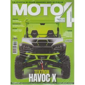 Motoa 4 -  n. 152 - bimestrale - maggio - giugno 2018