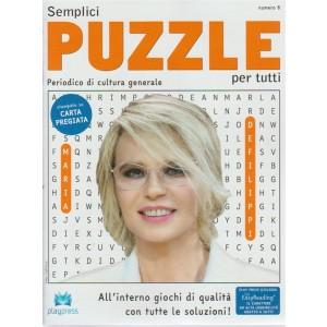 Semplici puzzle per tutti n. 6 - bimestrale - 17/5/2018 - Periodico di cultura generale