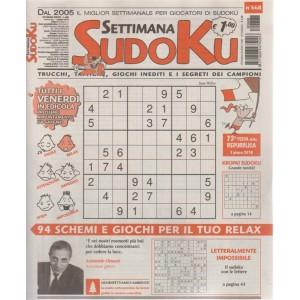 Settimana Sudoku - n. 668 - settimanale - 1 giugno 2018 - tutti i venerdì in edicola