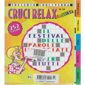 Raccolta Cruci Relax n. 43 - bimestrale - 19/8/2016