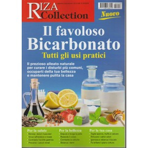 RIZA Collection- Favoloso Bicarbonato- speciale by Salute Naturale Febbraio 2018
