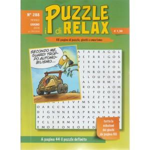 I Puzzle Di Relax - n. 288 - mensile - giugno 2018 -