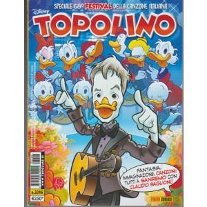 Disney Topolino - settimanale n. 3246 - 7 Febbraio 2018 Pnini Comics