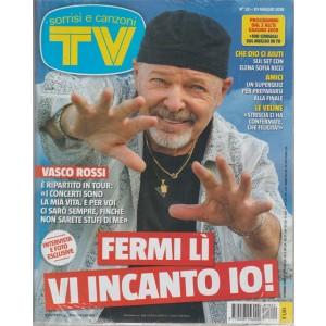 Sorrisi e Canzoni TV-settimanale n.22-29 maggio 2018 Vasco Rossi: vi incanto io!