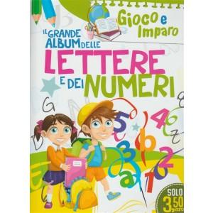 Leggo Gioco e Imparo - mensile n. 5 Maggio 2018 - Album Lettere Numeri